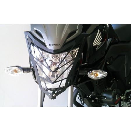 Protector faro Honda CB 150 invicta (2014 - up) TST