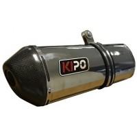 Exosto Full System Ovalado Kipo Fz16/Pulsar/Bws2/Akt TT125/150