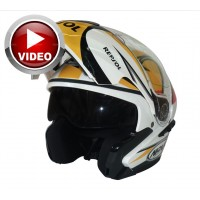 Casco Naxa Abatible Repsol