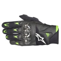 Guantes Alpinestar SMX-2 Air Carbon Negro Verde