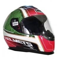 Casco Integral MT Thunder LG Bull Blanco/Rojo/Verde