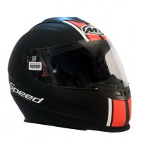 Casco Integral MT Thunder LG Speed Negro/Naranja