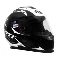 Casco Integral MT Thunder LG Ace Negro/Gris/Blanco