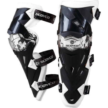 Rodilleras Scoyco K12 Blanco