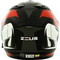 Casco Zeus 806 Integral Doble Visor