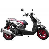 Sistema De Escape Completo Kipo - Full System Yamaha BWS125 - BWS2 - BWSX