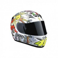 Casco Agv k3 White Zoo