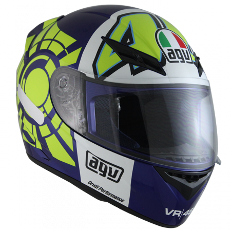 Casco Agv k3 Winter Test 2012 Blue