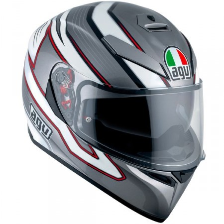 Casco AGV K3 SV Mizar Dark Grey-White
