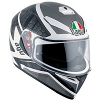 Casco AGV K3 SV Pulse White-Black-Gun Metal