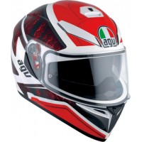 Casco AGV K3 SV Pulse White-Black-Red