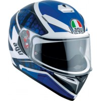 Casco AGV K3 SV Pulse White-Black-Blue