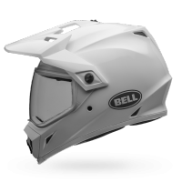 Casco Bell Mx-9 Adventure Gloss Whitte