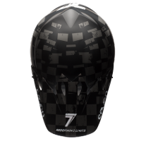 Casco Bell Mx-9 Seven Checkmate Matte
