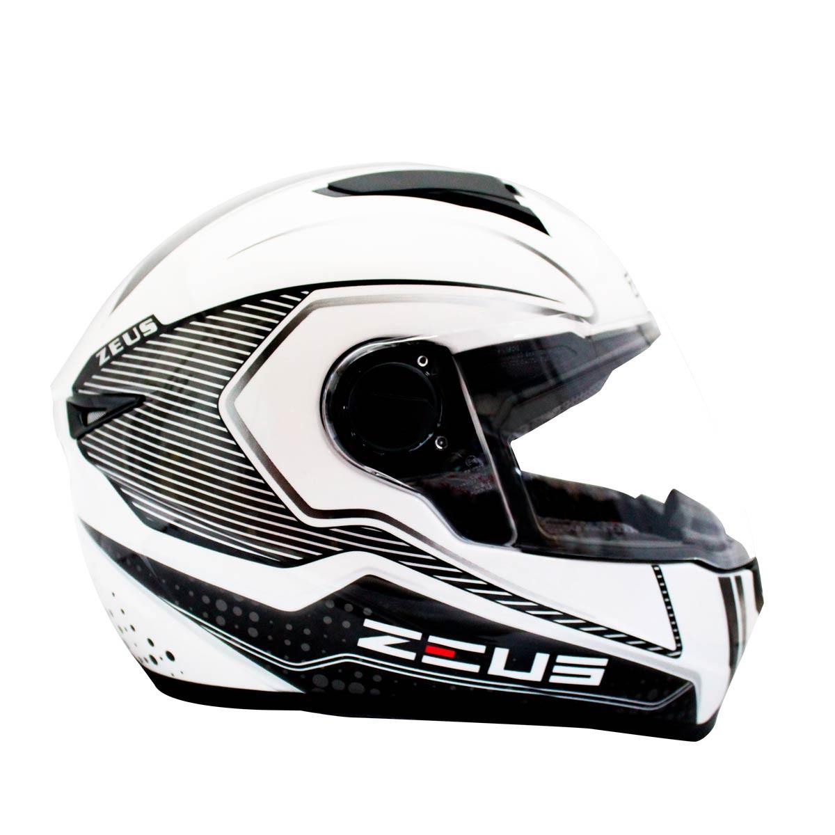 b751cea1a4626 El casco Zeus 811 integral es perfecto para los que buscan tener un casco  de excelente calidad y con el mejor precio. Ideal para cualquier funcion  que ...