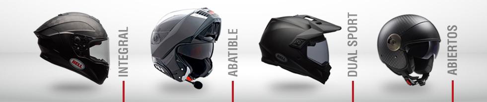 Los mejores cascos para moto  a un click - Cascos a crédito