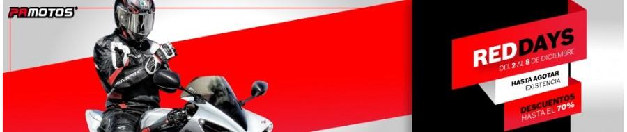 RED DAYS - Días de promoción en PAMOTOS.COM